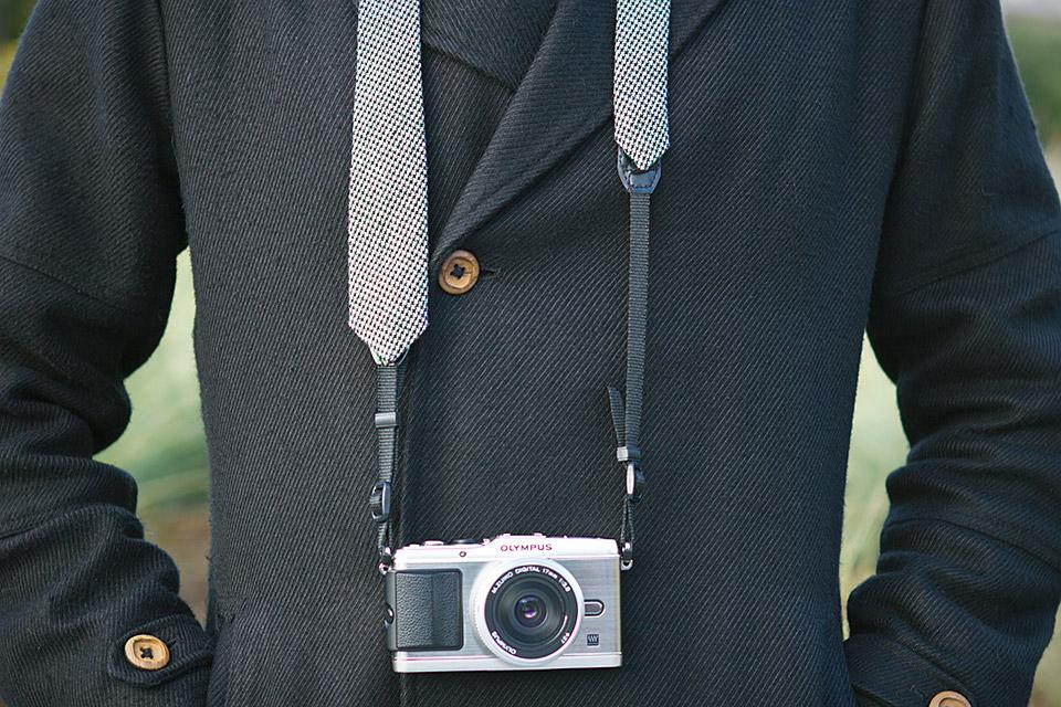 Necktie Camera Strap