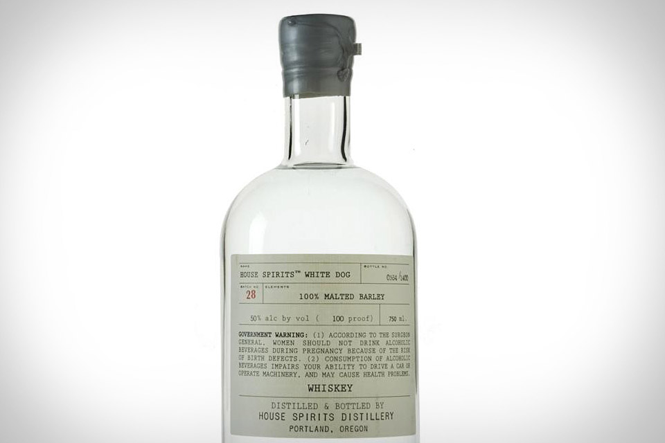 House Spirits White Dog Whiskey