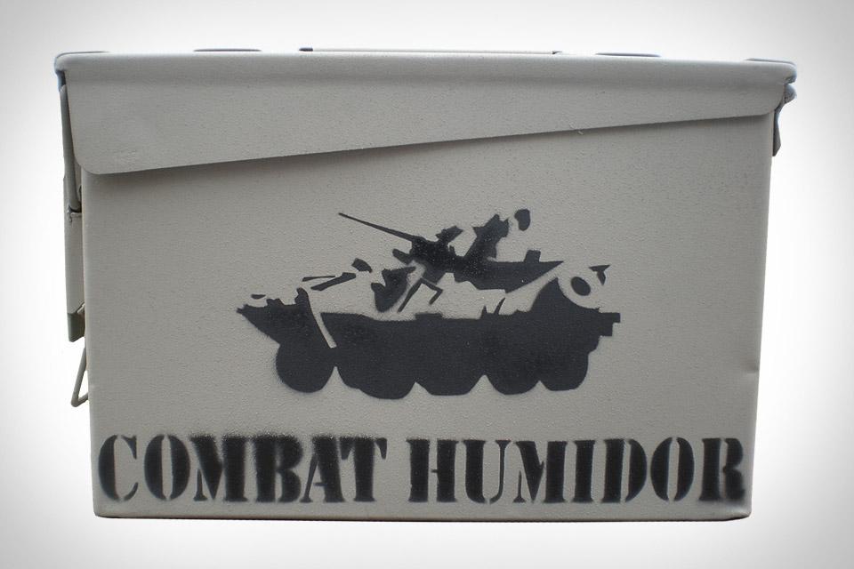 Combat Humidor