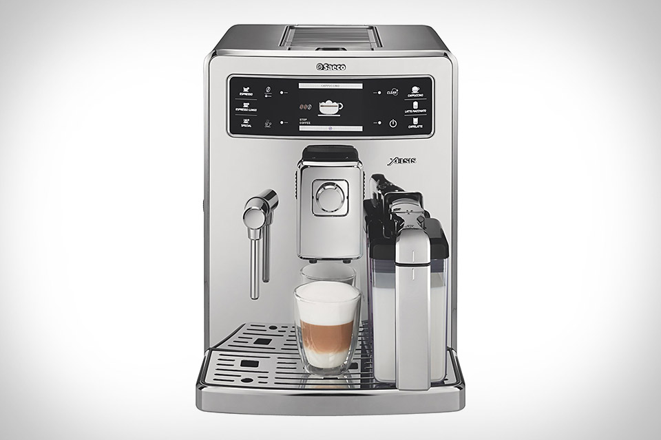 Philips Saeco Xelsis Fingerprint ID Espresso Machine