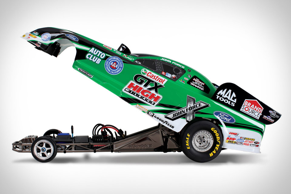 traxxas r c funny car uncrate