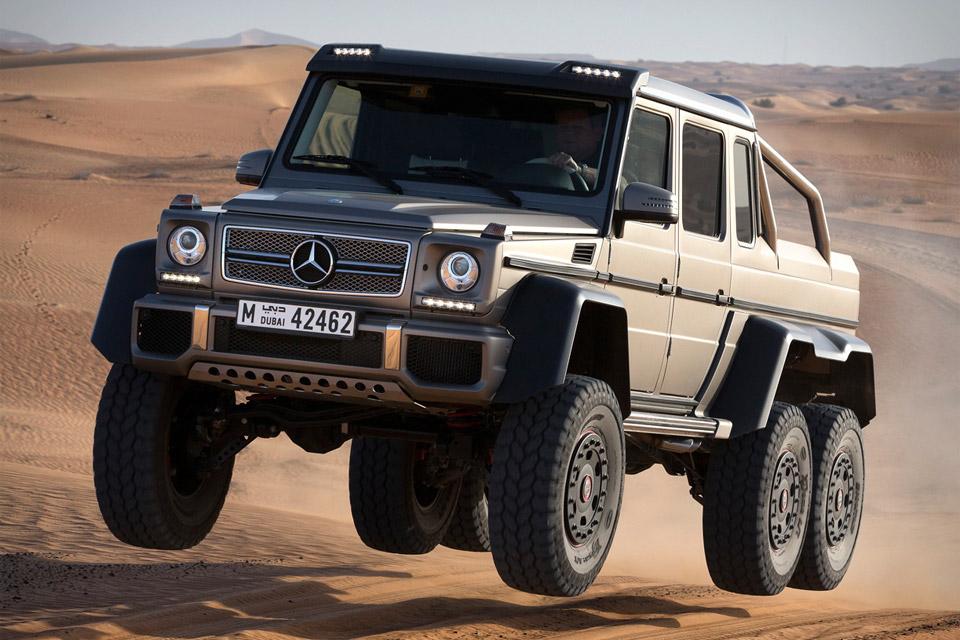 Mercedes Benz G63 Amg 6x6 Uncrate