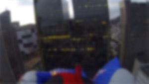 Urban Wingsuit Flying