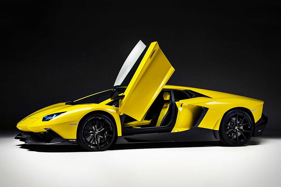 Lamborghini Aventador LP 720-4 50th Anniversary Edition