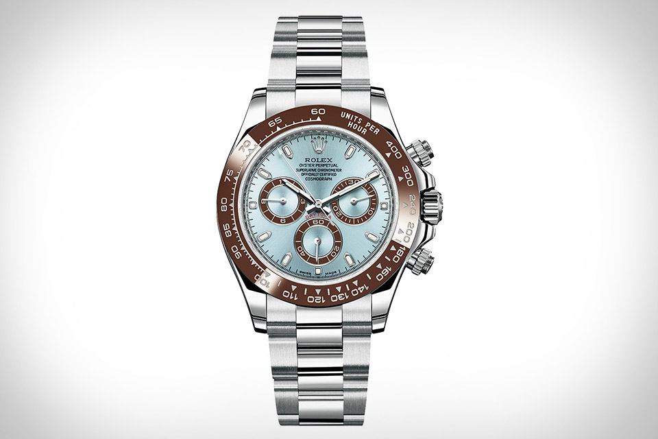 Rolex Oyster Perpetual Cosmograph Daytona Platinum Watch