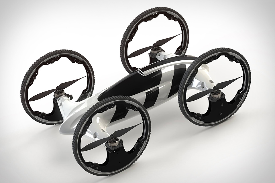 B Remote-Controlled Flying Car