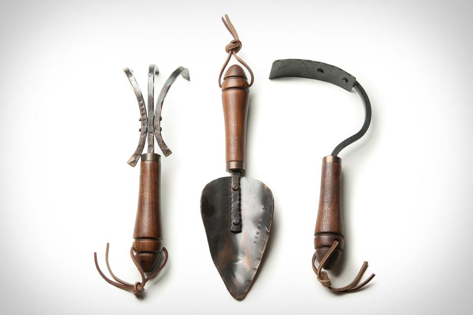 Fisher Blacksmithing Garden Tools