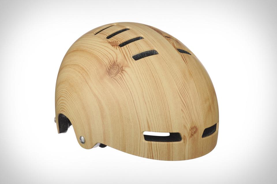 Lazer Sport Street Deluxe Woodgrain Helmet
