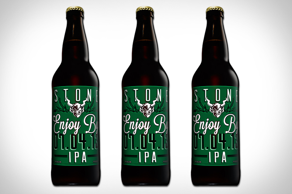 Stone Enjoy By IPA Beer