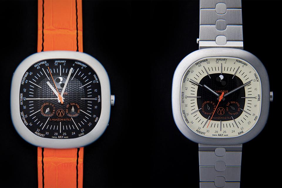 A.Manzoni & Fils Canopus Weekplanner Watch