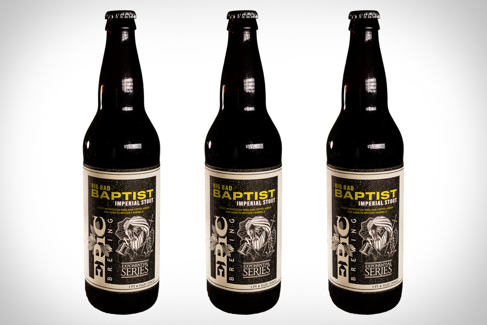 Epic Big Bad Baptist Beer