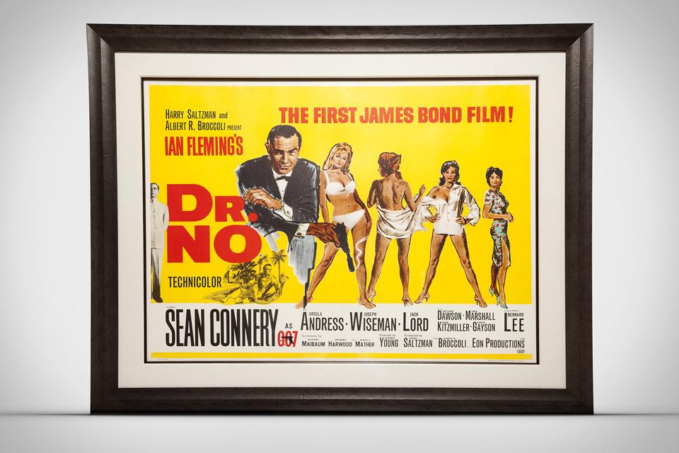Vintage James Bond Posters