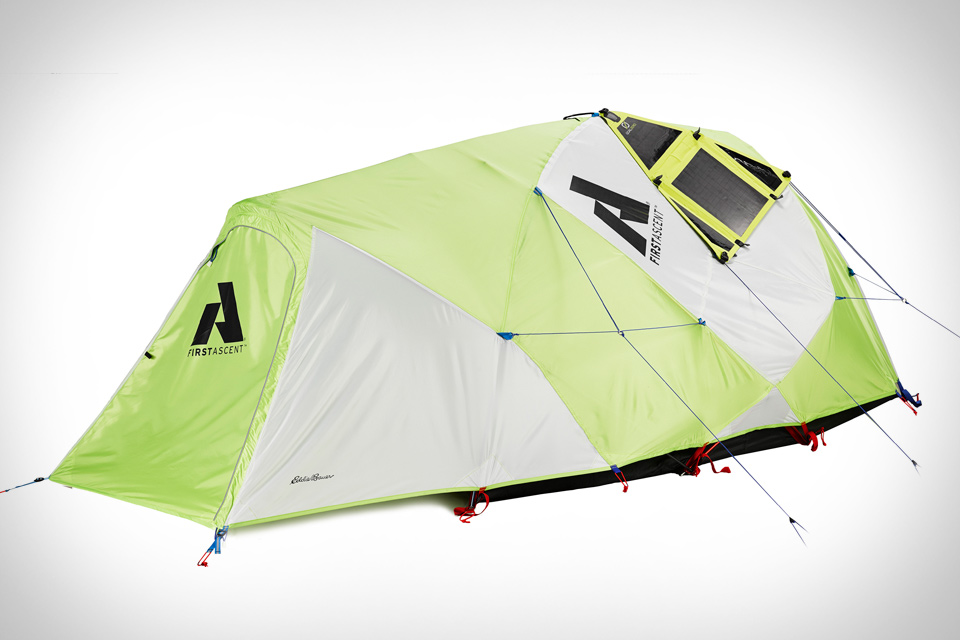 & Eddie Bauer Katabatic 2 Solar Tent | Uncrate