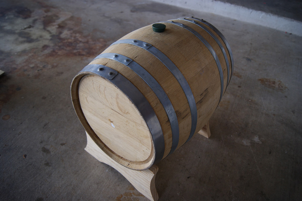 Homebrew Whiskey Barrels