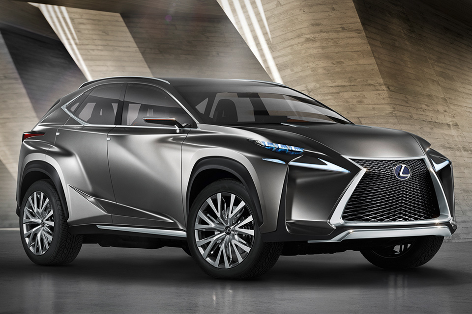 lexus lf nx crossover concept uncrate. Black Bedroom Furniture Sets. Home Design Ideas