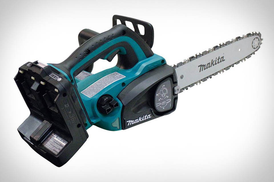 Makita x2 lxt cordless chainsaw uncrate gear keyboard keysfo Images