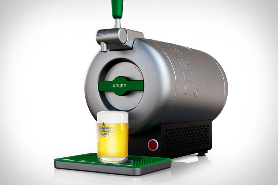 Krups Heineken Sub