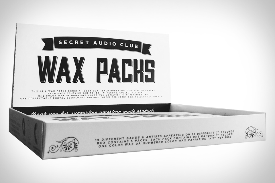 Secret Audio Club Wax Packs