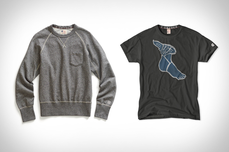 Todd Snyder x Champion Sportswear Collection