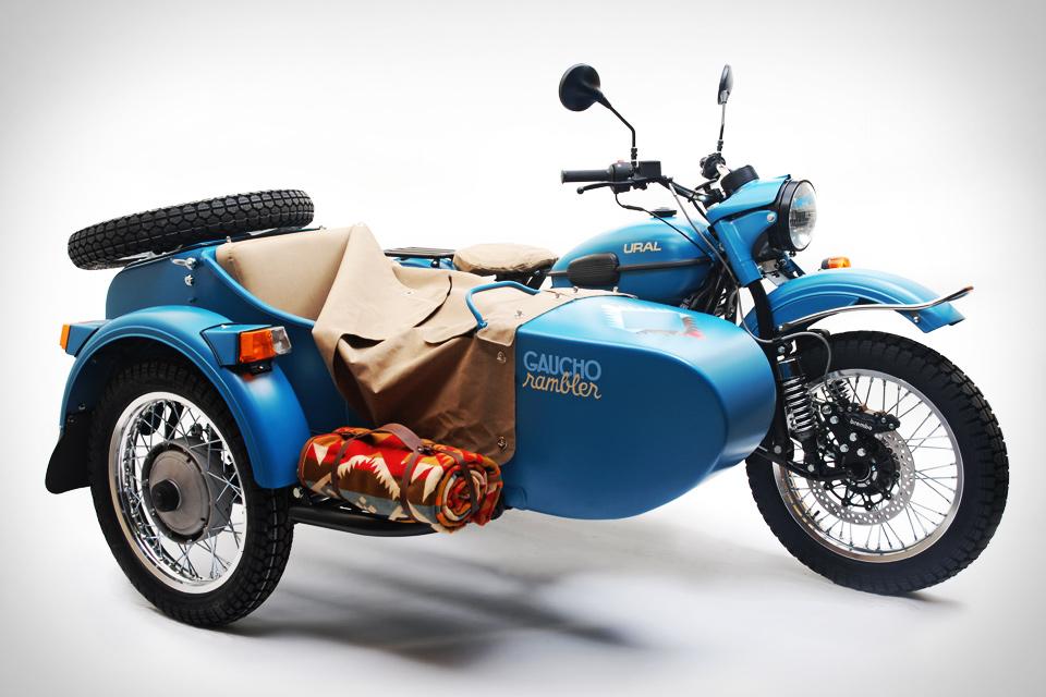 Ural x Pendleton Gaucho Rambler Sidecar Motorcycle