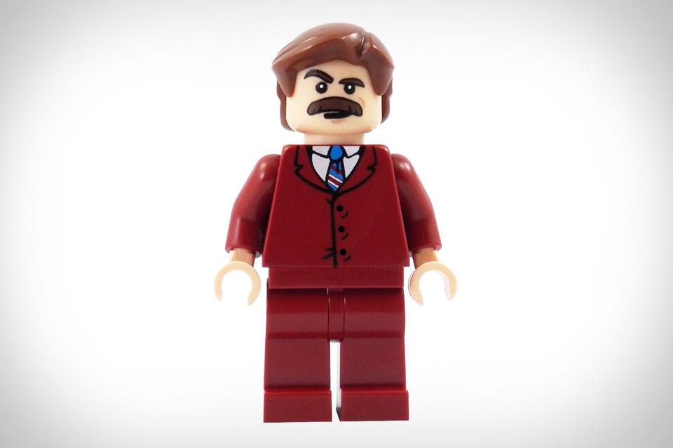 Ron Burgundy Lego Minifigure