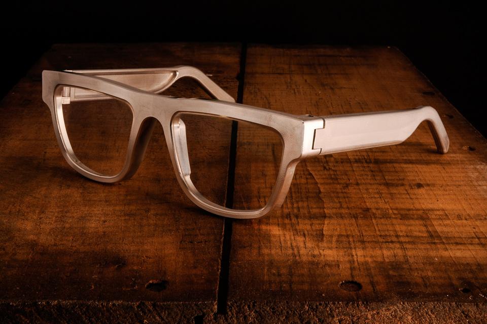 Aluminum Sunglasses  exovault aluminum eyeglasses uncrate