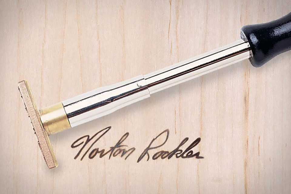 Signature Branding Iron