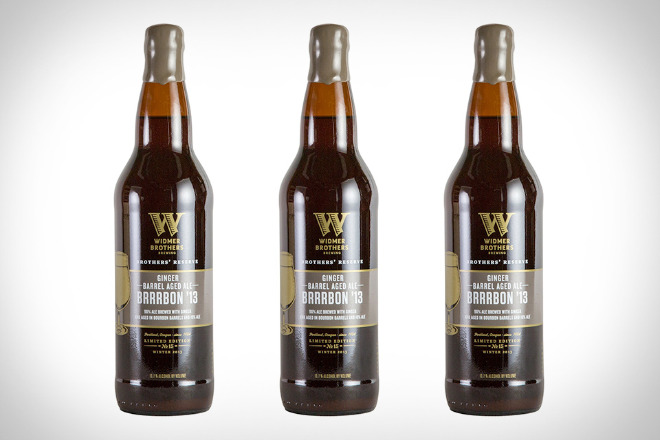 Widmer Ginger Barrel Aged Brrrbon Beer