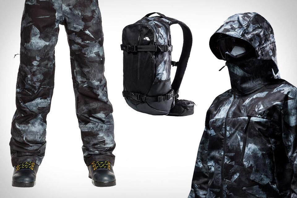 Isaora x Quiksilver Rare Earth Snowboarding Gear