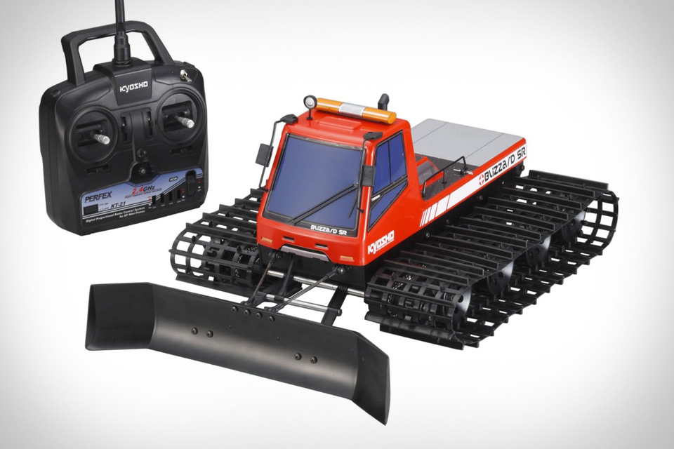 Kyosho Blizzard RC Plow Vehicle