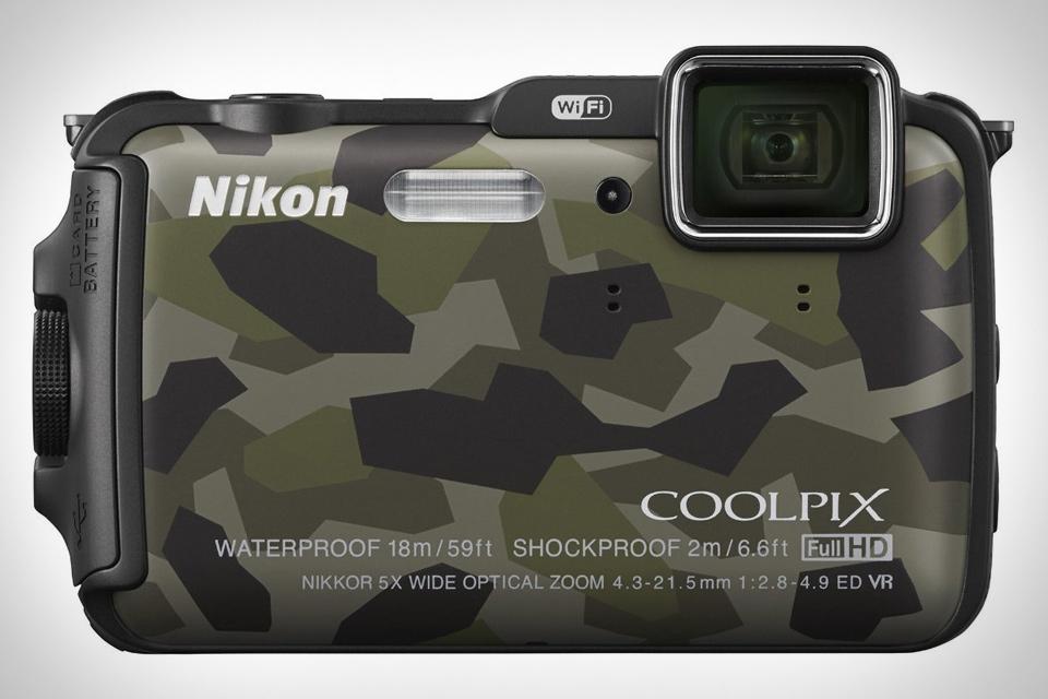 Nikon Coolpix AW120 Camo Camera