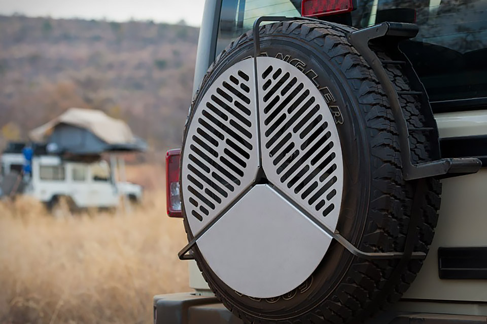 Spare Tire Mount Grill