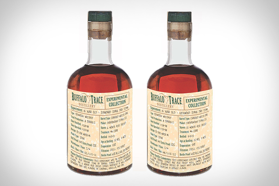 Buffalo Trace Extended Drying Time Bourbon