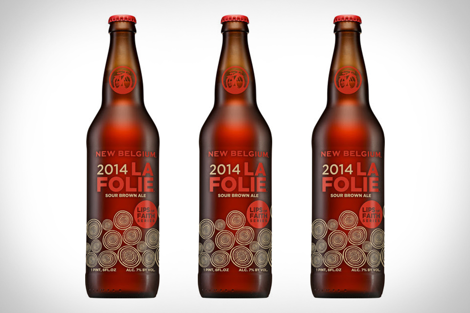 New Belgium La Folie Beer