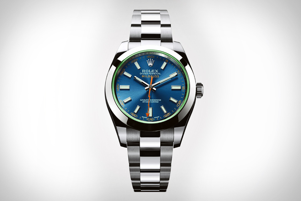 Rolex Milgauss Z Blue Watch
