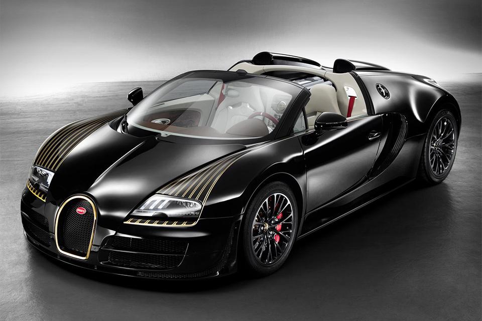 Bugatti Veyron Grand Sport Vitesse Black Bess Edition | Uncrate