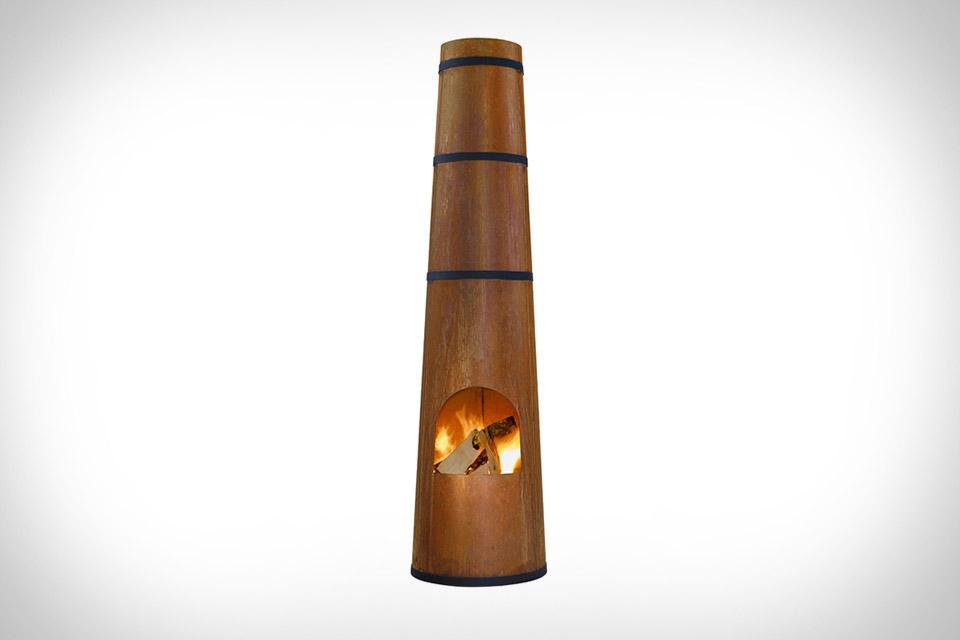 Smokestack Firepit