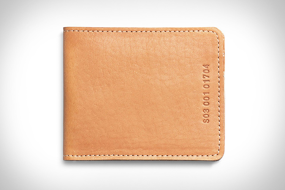 Shinola Bifold Wallet
