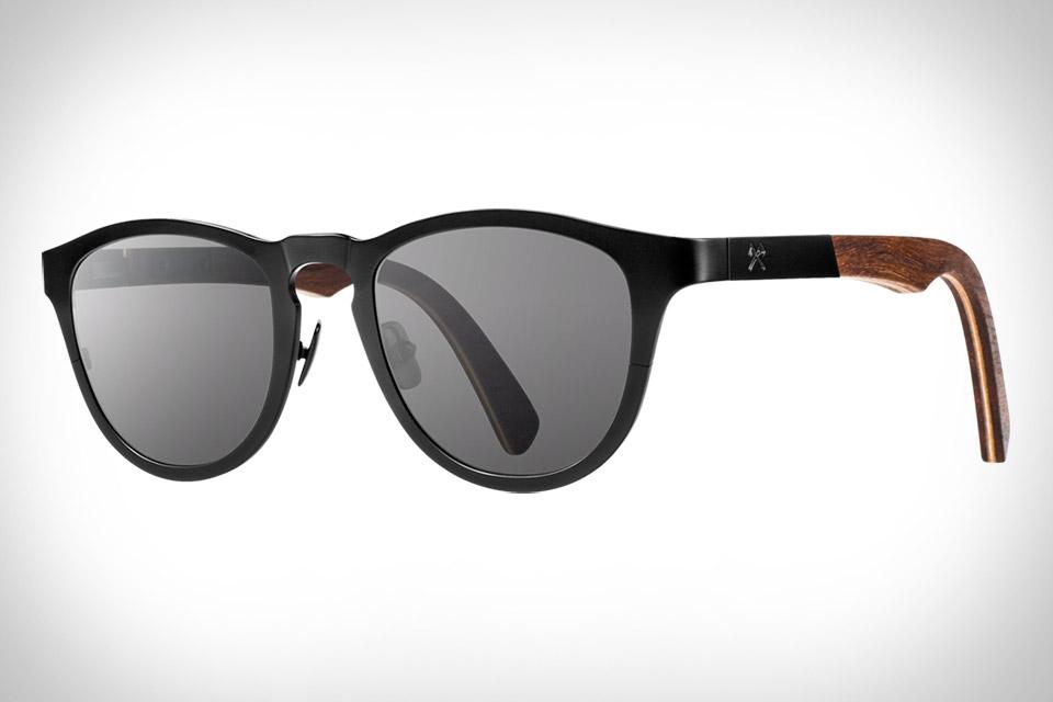 Shwood Fifty/Fifty Titanium Sunglasses