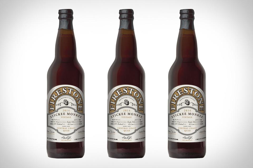 Firestone Walker Stickee Monkee Beer