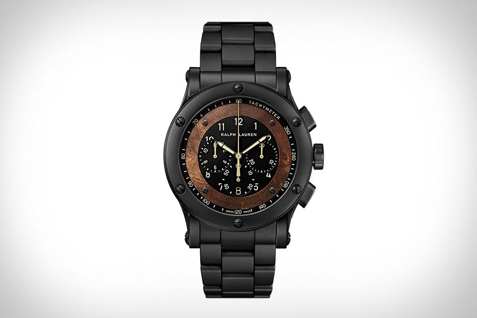 Ralph Lauren Ceramic Automotive Watch
