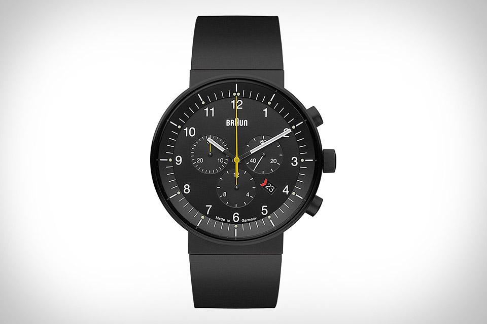 Braun Prestige Chronograph Watch