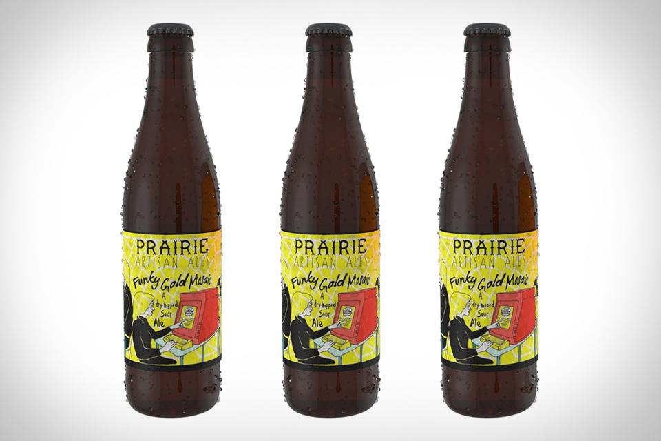 Prairie Funky Gold Mosaic Beer