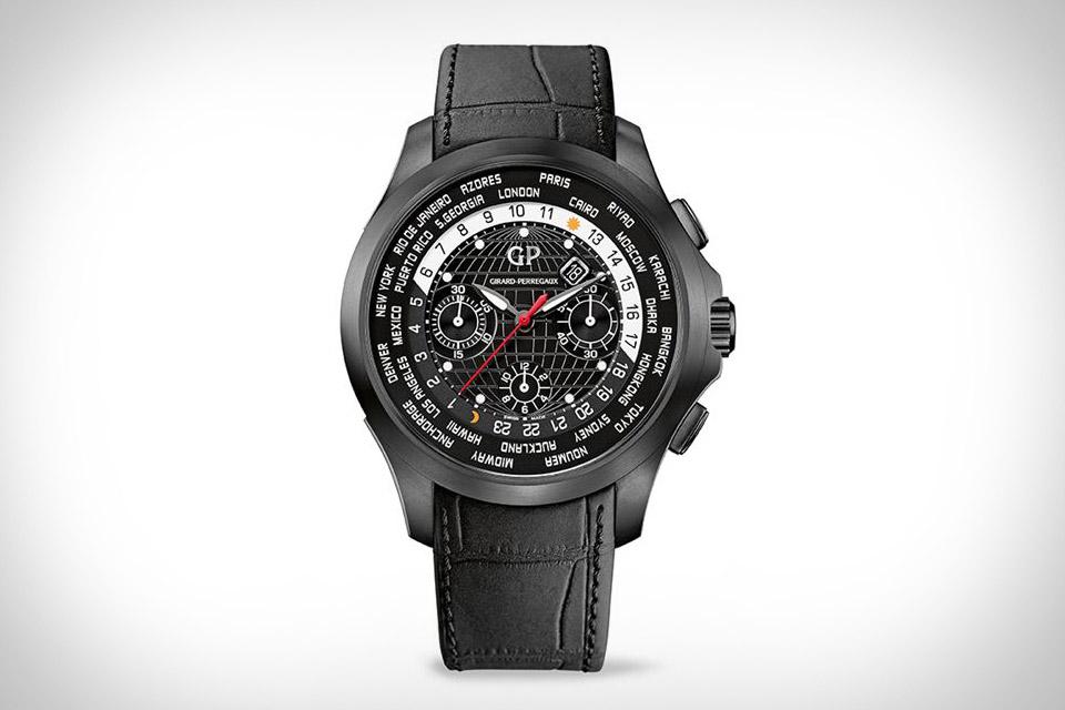 Girard-Perregaux Traveller WW.TC Titanium DLC Watch