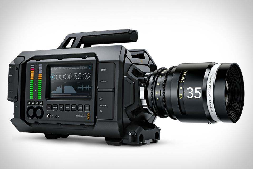 Blackmagic URSA 4K Digital Film Camera | Uncrate