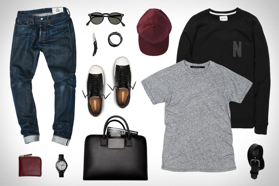 Garb: Black Leather