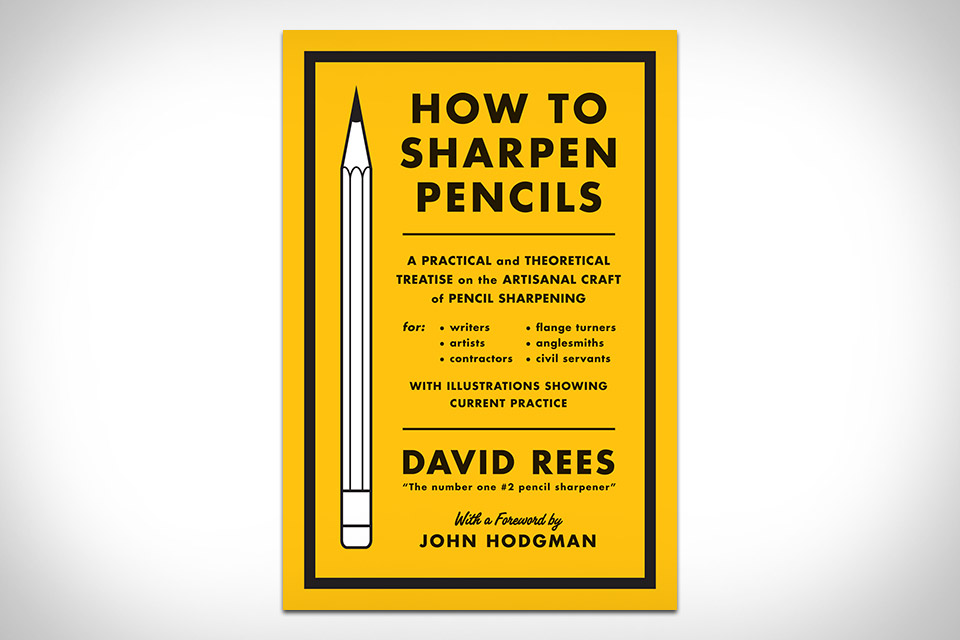 How To Sharpen Pencils
