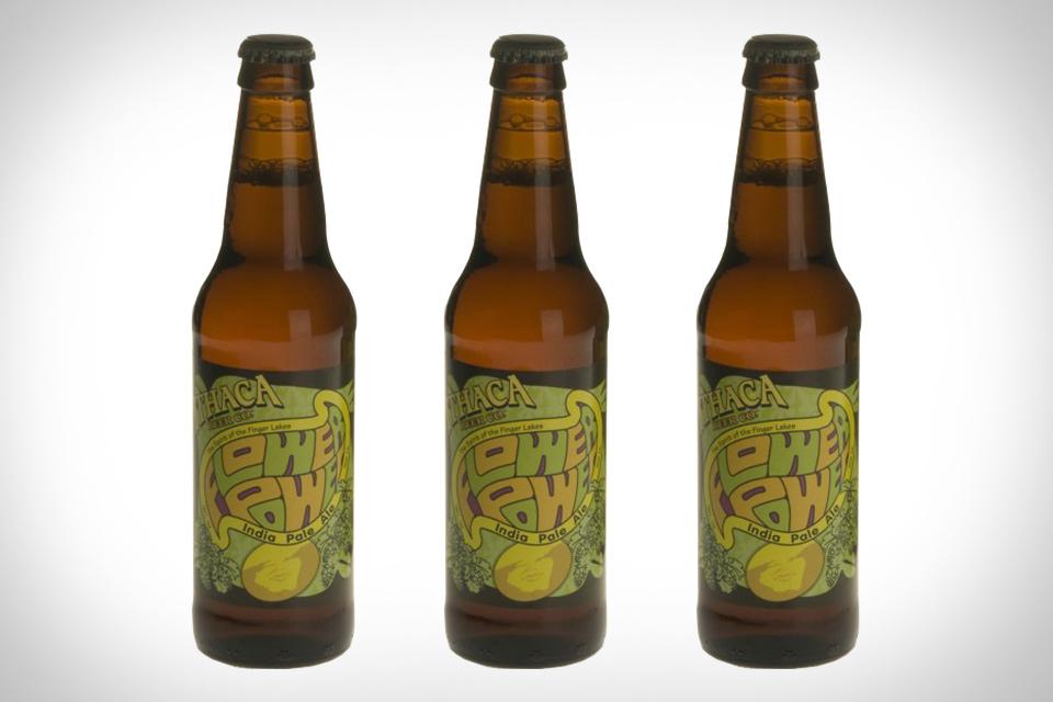 Ithaca Flower Power Beer