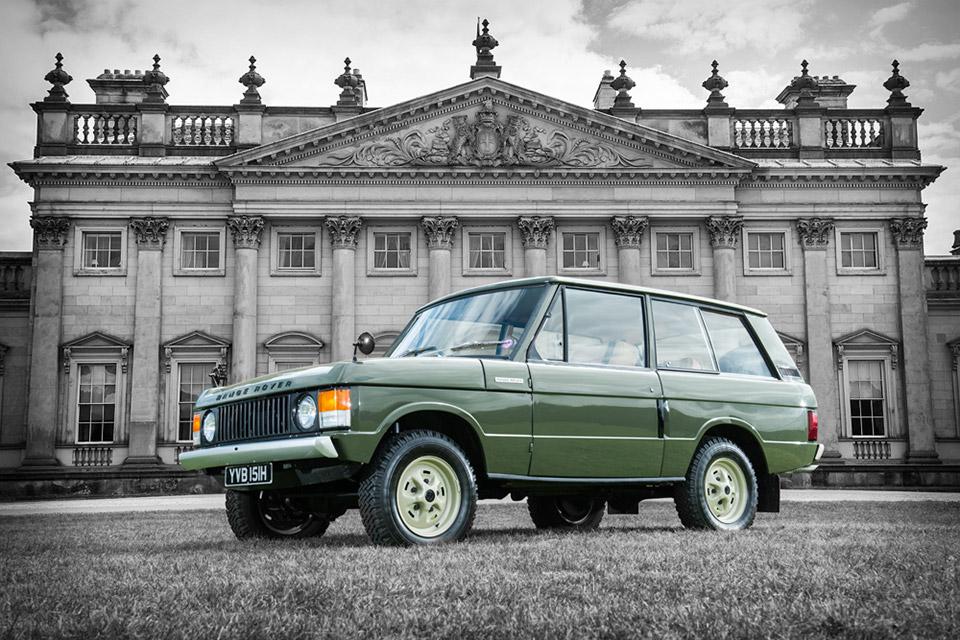 1970 Range Rover #001