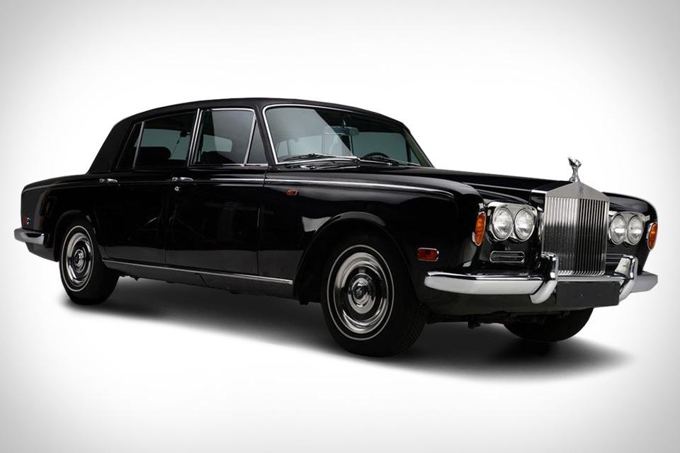 Johnny Cash's 1970 Rolls Royce Silver Shadow
